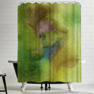 Zina Zinchik Happy Swirl Shower Curtain