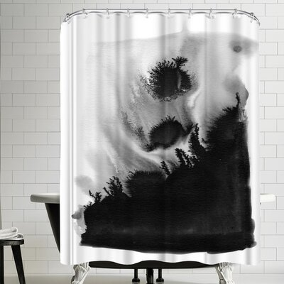 Charlotte Winter Bang Shower Curtain