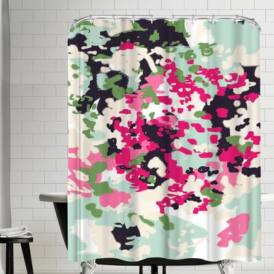Charlotte Winter Finch Shower Curtain