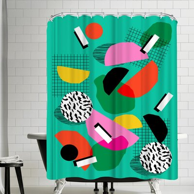 Wacka Designs Flange Shower Curtain