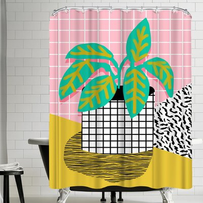 Wacka Designs Get Real Shower Curtain