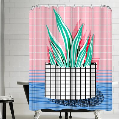Wacka Designs Glam Shower Curtain