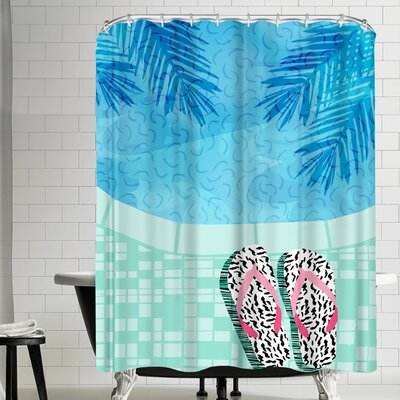 Wacka Designs Go Time Shower Curtain
