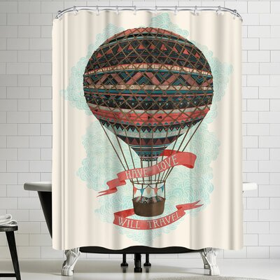 Laura Graves Have Love Will Travel Shower Curtain