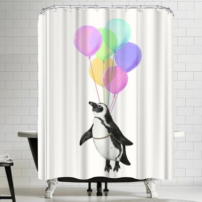 Laura Graves I Believe I Can Fly Shower Curtain