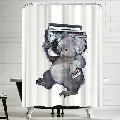 Laura Graves Koala Shower Curtain
