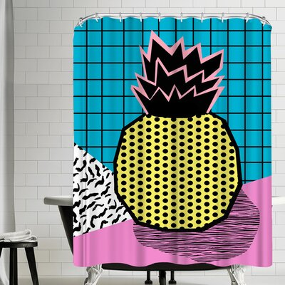Wacka Designs Grindage Shower Curtain