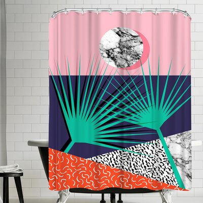 Wacka Designs Head Rush Shower Curtain