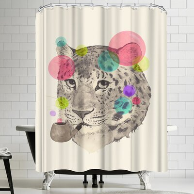 Laura Graves Leopard Change Shisspots Shower Curtain
