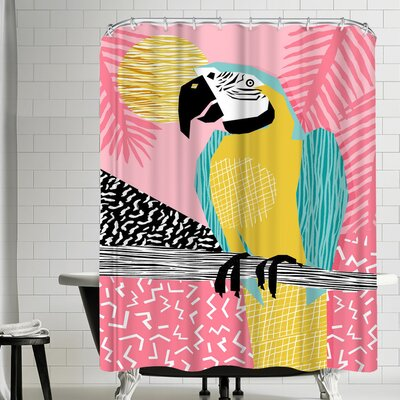 Wacka Designs Holy Moly Shower Curtain