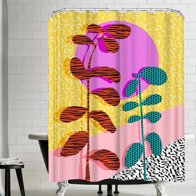 Wacka Designs Homefry Shower Curtain