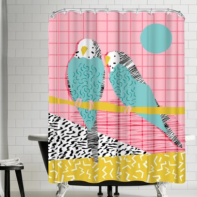 Wacka Designs Hottie Shower Curtain
