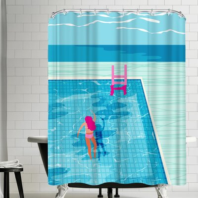 Wacka Designs In Deep Shower Curtain