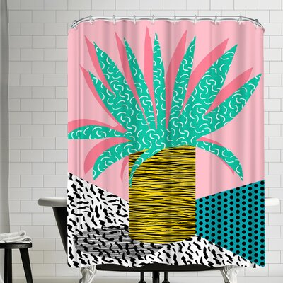 Wacka Designs In the Mix Shower Curtain