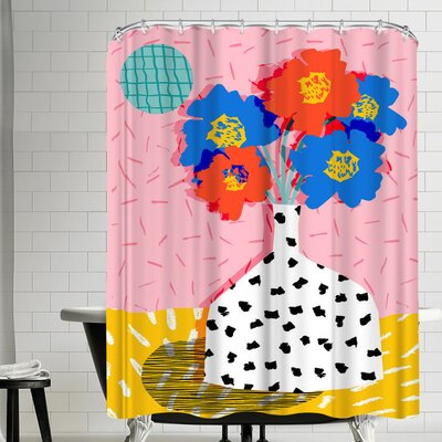 Wacka Designs In There Shower Curtain