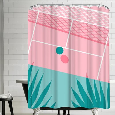 Wacka Designs Jock Shower Curtain