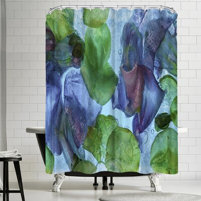 Zina Zinchik Jeweled Shower Curtain