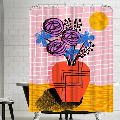 Wacka Designs Just Kidding Shower Curtain
