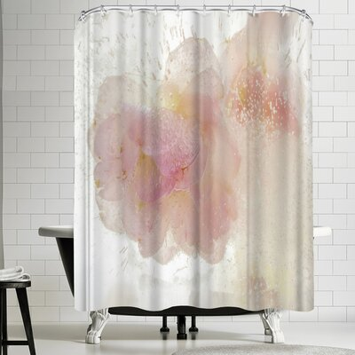 Zina Zinchik Love in White Shower Curtain