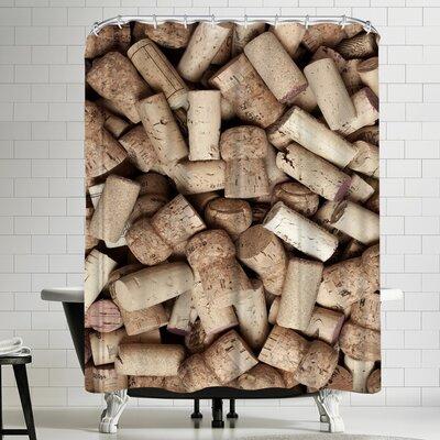Maja Hrnjak Wine 2 Shower Curtain