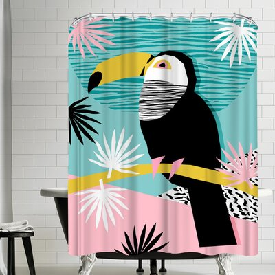 Wacka Designs Loopy Shower Curtain