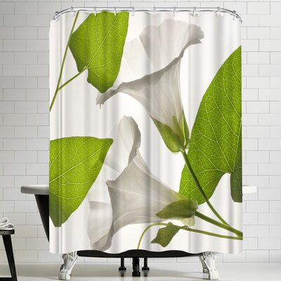 Maja Hrnjak Bell Flower 1 Shower Curtain