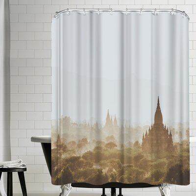 Luke Gram Bagan Myanmar Shower Curtain