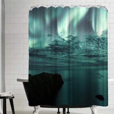 Luke Gram Borgarfjorour Eystri Iceland Shower Curtain