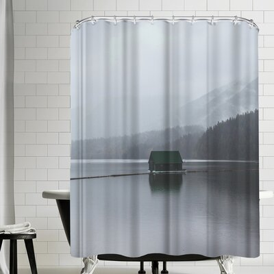 Luke Gram Capilano Lake Vancouver Shower Curtain