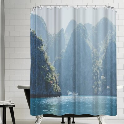 Luke Gram Coron Philippines Shower Curtain