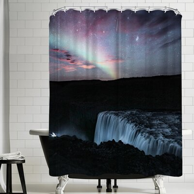 Luke Gram Dettifoss Iceland Shower Curtain