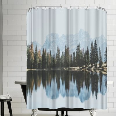 Luke Gram Dolomites Italy Shower Curtain