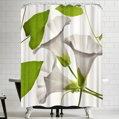 Maja Hrnjak Bell Flower 2 Shower Curtain