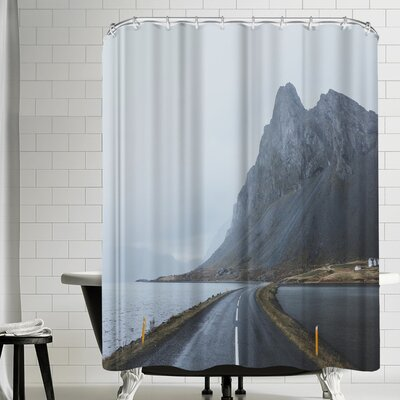 Luke Gram Eastern Region Iceland Ii Shower Curtain
