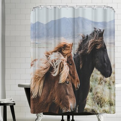 Luke Gram Eastern Region Iceland Shower Curtain