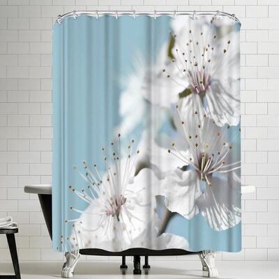 Maja Hrnjak Cherry Blossom Shower Curtain