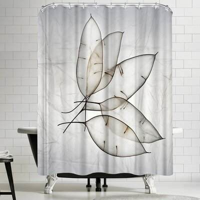 Maja Hrnjak Leaves 4 Shower Curtain