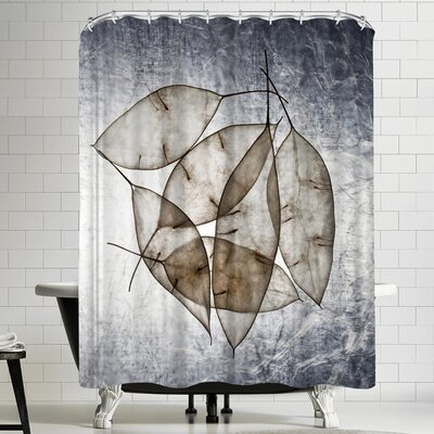 Maja Hrnjak Leaves 5 Shower Curtain