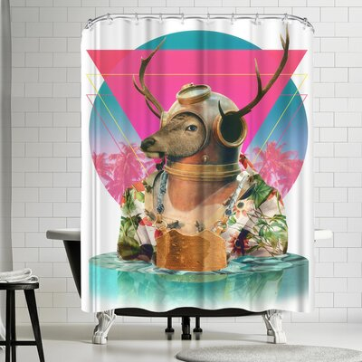 Ali Gulec Summer Mood Shower Curtain