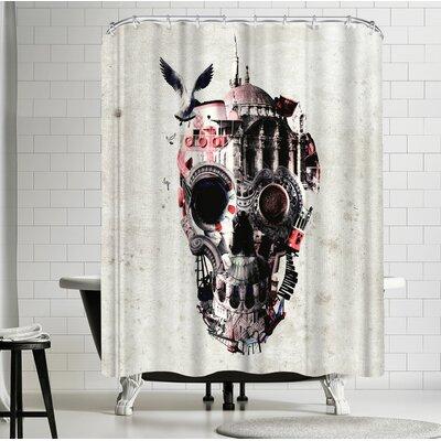 Ali Gulec Istanbul Skull 6000 Pr Shower Curtain