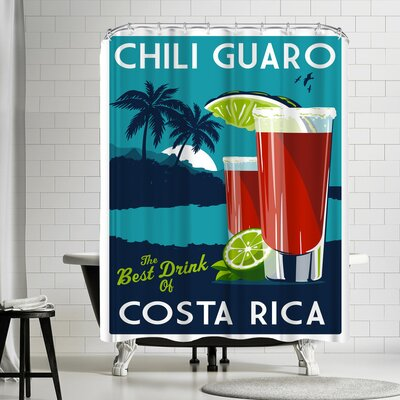 Matthew Schnepf Chiliguaro Shower Curtain