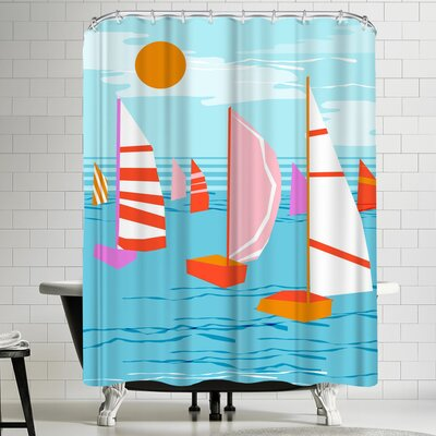Wacka Designs Que Pasa Shower Curtain