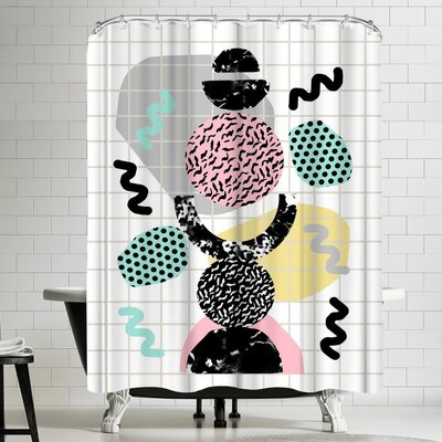Wacka Designs Righteous Shower Curtain