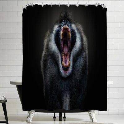 1x The Scream Shower Curtain