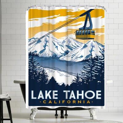 Matthew Schnepf Laketahoe Shower Curtain