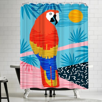 Wacka Designs Say What Shower Curtain