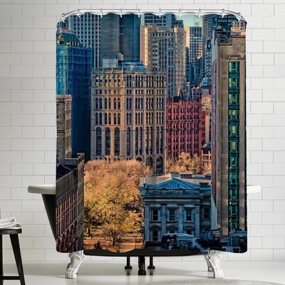 1x City Life Shower Curtain