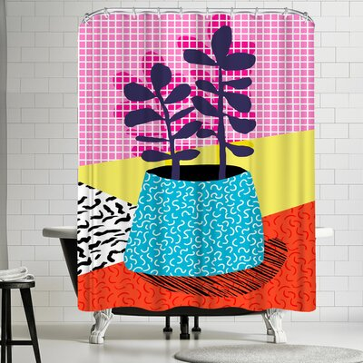 Wacka Designs Shibby Shower Curtain