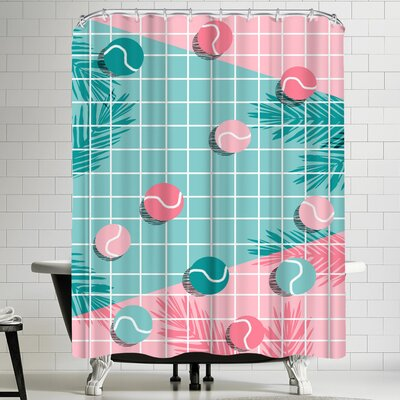 Wacka Designs Shot Caller Shower Curtain