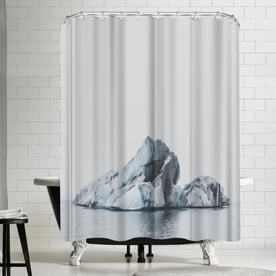 Luke Gram Jokulsarlon Iceland Shower Curtain